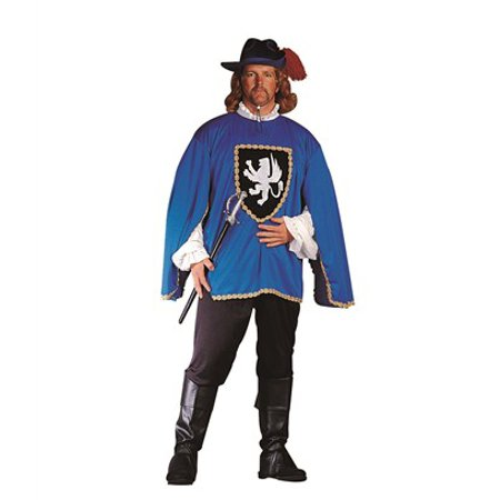 Musketeer Costume Plus Size - 3 Musketeer Costume