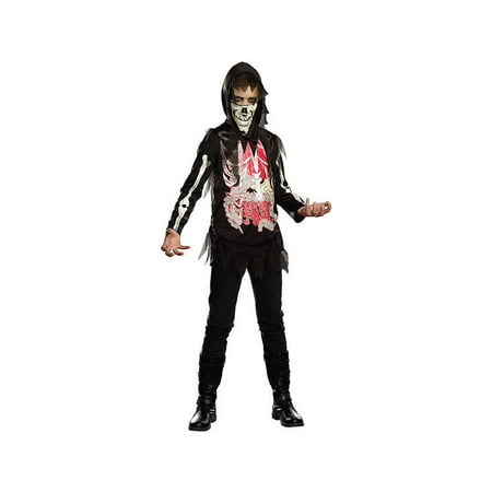 No Guts No Glory Reaper Skeleton Boys Costume