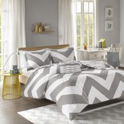Mi-Zone Libra Duvet Cover Set Black Twin/Twin/Twin X-Large