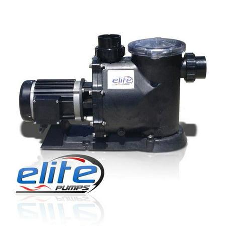 Elite Pumps 4000EP2LR19 Primer Pro 2 Low RPM Series 1 by 8 HP GPH External Pond Pump](Ellie Pumps)