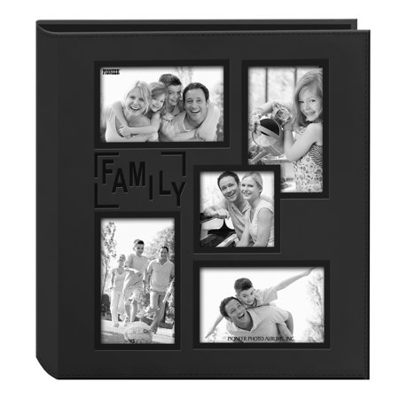 Large Square Album - Pioneer Family Collage Frame Cover Large Photo Album