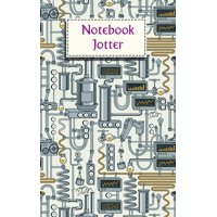 Notebook Jotter: Small Note Book - Steampunk Notebook (Paperback)