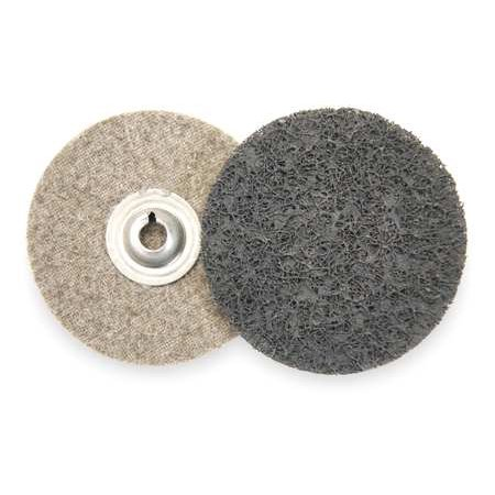 ARC ABRASIVES 59244 Locking Conditioning Disc, AlO, 2in, UF, TS