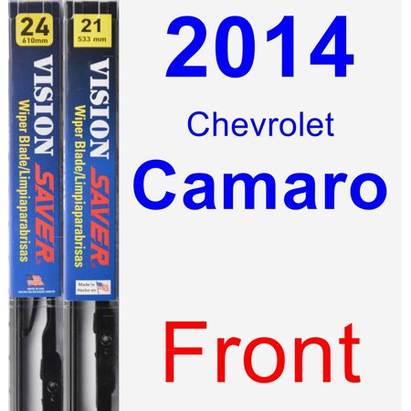 2014 Chevrolet Camaro Wiper Blade Set/Kit (Front) (2 Blades) - Vision Saver