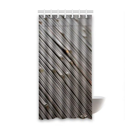 BSDHOME Bamboo Waterproof Polyester Bathroom Shower Curtain 36x72 Inches - image 2 of 2