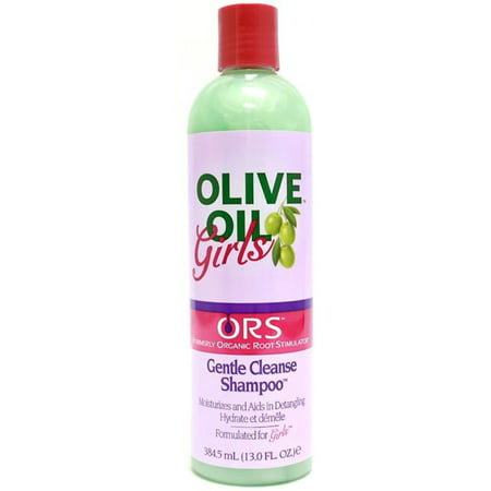 Organic Root Stimulator Girls Clean Shampoo, 13 (Best Shampoo For Oily Roots And Dry Ends)