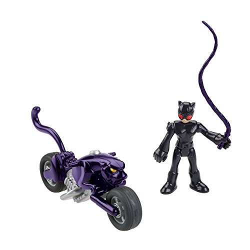 Imaginext DC Super Friends Streets of Gotham City Catwoman & Cycle