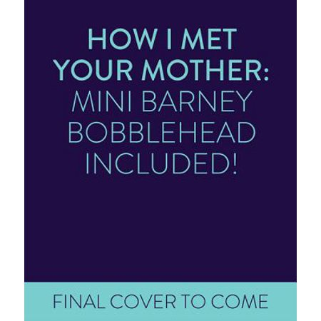 How I Met Your Mother Mini Kit Barney Stinson Bobblehead Book TV Merchandise - Himym Halloween Quote