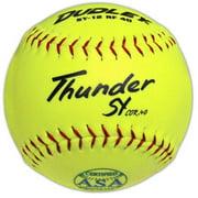 "Dudley ASA 12"" Thunder SY RF40 Softball .40 375 lb by Dudley"