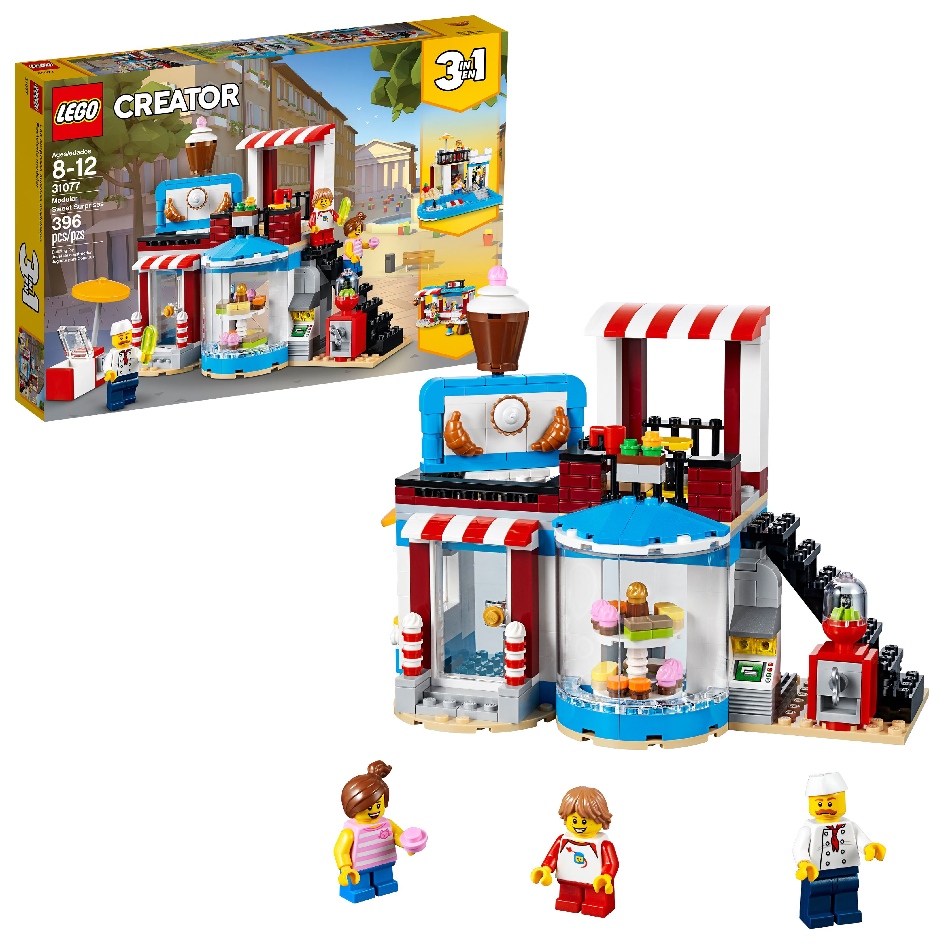 LEGO Creator 3in1 Modular Sweet Surprises 31077 (396 Pieces)