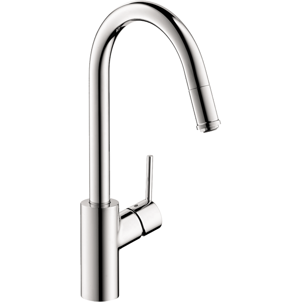 Hansgrohe Talis S Higharc Kitchen Faucet 1 Spray Pull Down 1 75 Gpm In Chrome Walmart Com Walmart Com