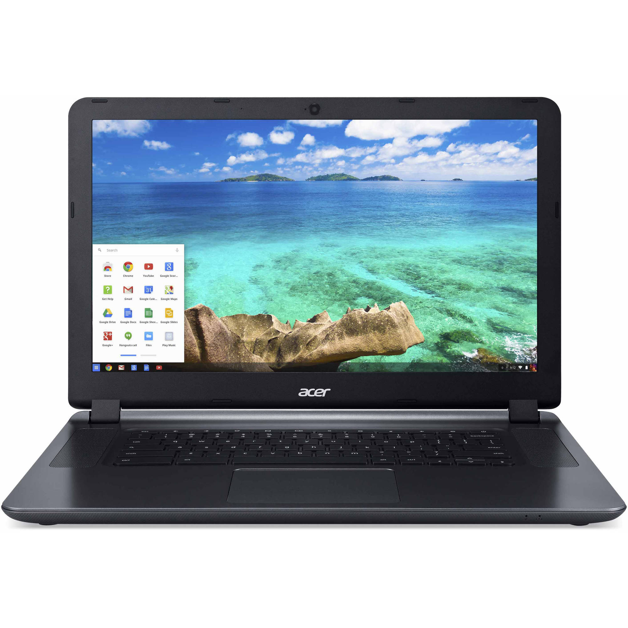 "Acer Granite Gray 15.6"" CB3-531-C4A5 Chromebook PC with Intel Celeron N2830 Dual-Core Processor, 2GB Memory, 16GB Hard Drive and Chrome OS"