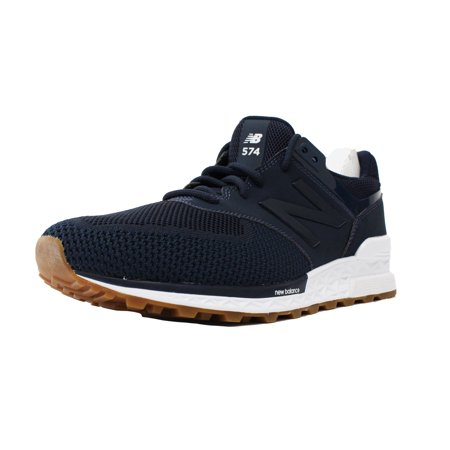 sale retailer 14b77 cd88f NEW BALANCE 574 SZ 13 VINTAGE INDIGO NAVY WHITE GUM BROWN FRESH FOAM  MS574EMB