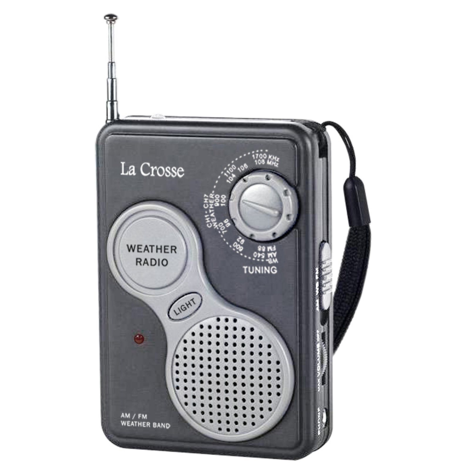 La Crosse 809-905 AM/FM Handheld NOAA Weather Radio