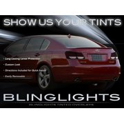 2006-2012 Lexus GS Tinted Tail Lamp Light Overlay Kit Smoked GS300 GS350 GS430 GS450h GS460