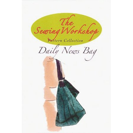 Sewing Pattern Sewing Workshop Collection Daily News Bag Walmart