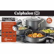 Calphalon Commercial Nonstick Hard Anodized 13 Piece Cookware Set