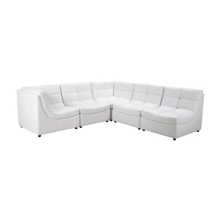 Best Master Furniture Cloud 6 Piece Modular Sectional Sofa