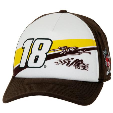Kyle Busch The Game Slingshot Adjustable Hat - White/Brown - OSFA