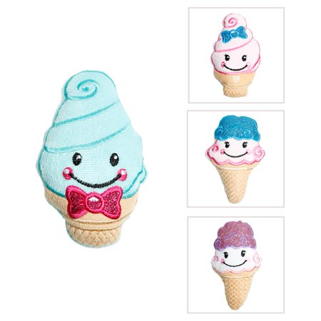 Plush Glitter Ice Cream Cone](Ice Cream Plush)