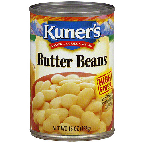 Kuner's Butter Beans, 15 oz (Pack of 12)
