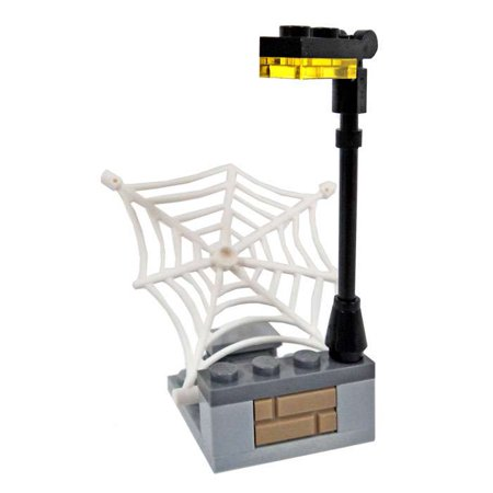 LEGO Marvel Super Heroes Loose Light Post with Web Launcher Terrain