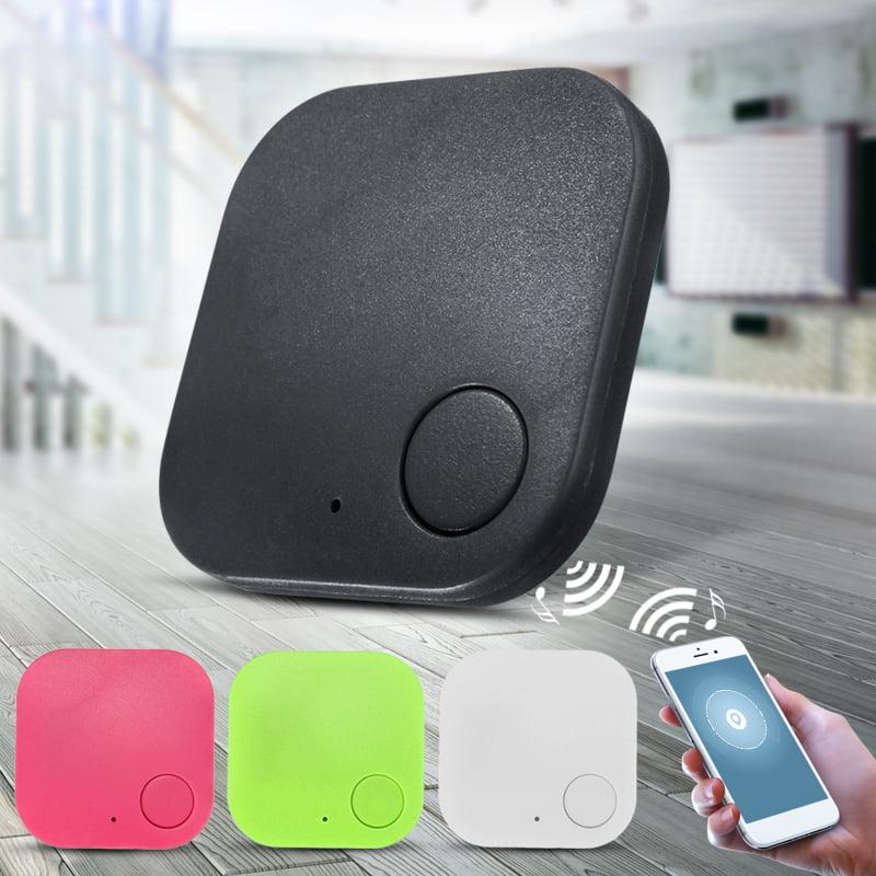 Mini Bluetooth Key Tracker Finder Smart Tag GPS Locator For Key Child Kid Pet Dog Cat Bag Anti Lost Alarm,Green color