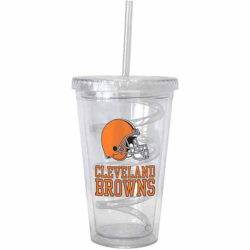 NFL New York Giants Tumbler with Swirl Straw 16-ounce