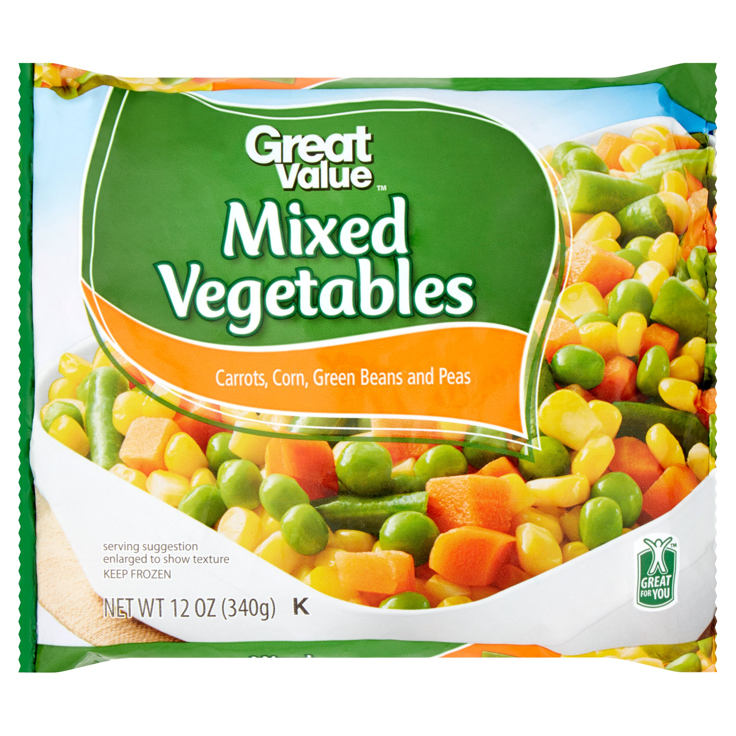 Great Value Mixed Vegetables, 12 oz by Wal-Mart Stores, Inc.