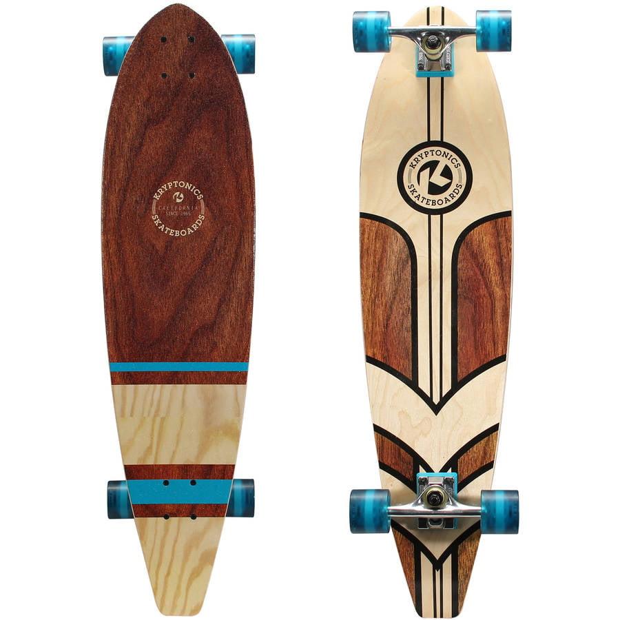 """Kryptonics 36"""" Longboard Complete Skateboard (36"""" x 9"""") Pacific Islander"""