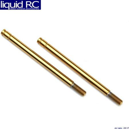 Shock shaft, 3x47mm (GTS) (titanium nitride-coated) (2)