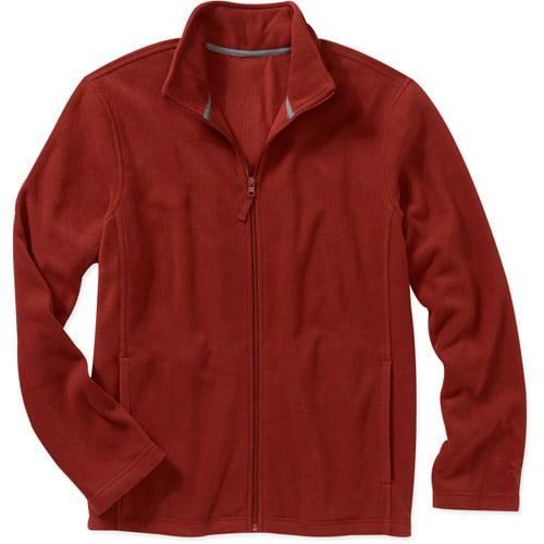 Starter Men's Full Zip Micro Fleece Mock Neck Jacket