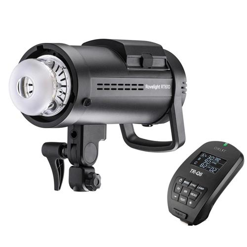 ORLIT RoveLight RT 610 HSS TTL Battery-Powered Monolight With TR-Q6 Studio Flash Trigger For Fuji (Bowens Mount) by ORLIT