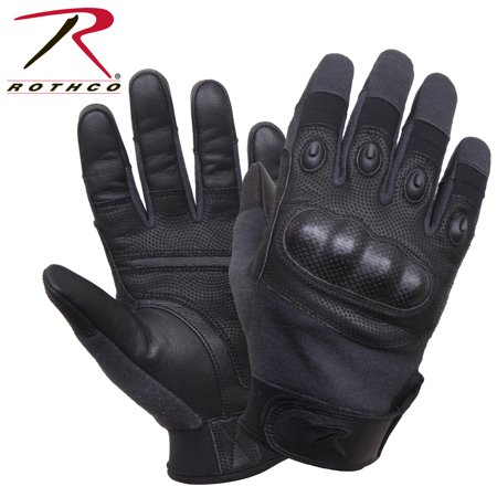 Carbon Fiber Gloves - Rothco's Carbon Fiber Hard Knuckle Cut/Fire Resistant Gloves