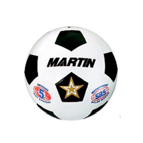 Dick Martin Sports Soccer Ball White Size 4 Rubber