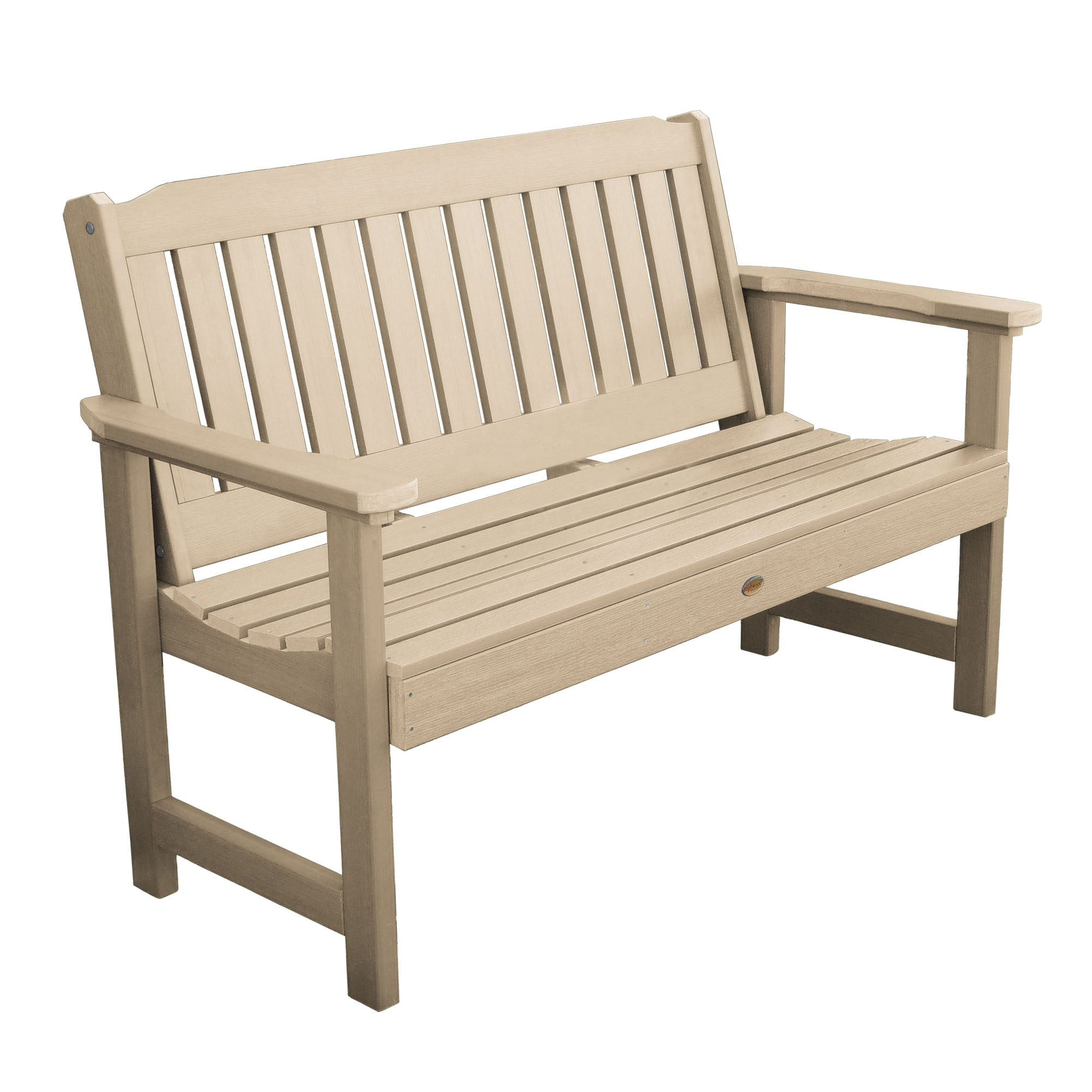 highwood Eco-Friendly Recycled Plastic Lehigh Garden Bench, 4' by Highwood USA