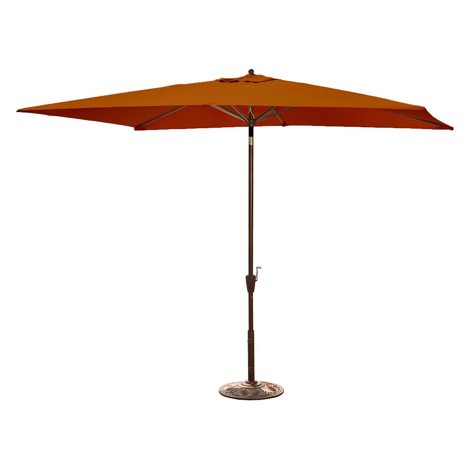 Adriatic 6.5-ft x 10-ft Rectangular Market Umbrella by Blue Wave