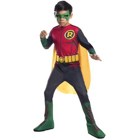 Robin Child Halloween Costume - Batman And Robin Halloween Costumes For Adults