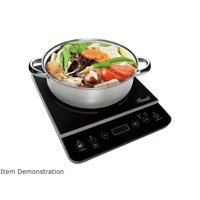 """Rosewill Induction Cooker 1800 Watt Induction Cooktop, Electric Burner Includes a 10"""" 3.5 QT Stainless Steel Pot RHAI-13001"""