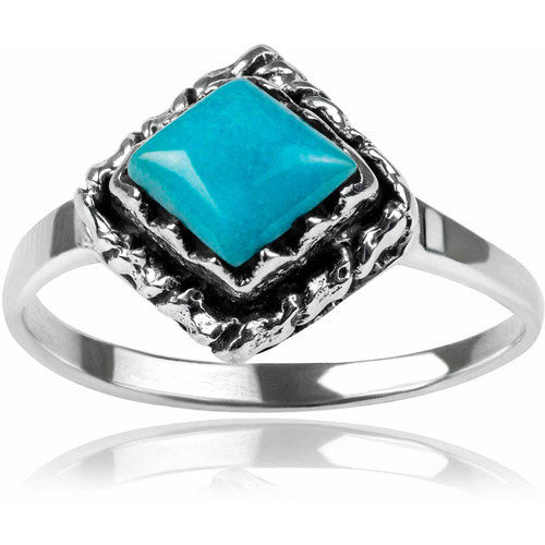Brinley Co. Women's Turquoise Sterling Silver Ring