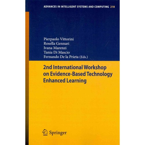2nd International Workshop on Evidenced-based Technology Enhanced Learning