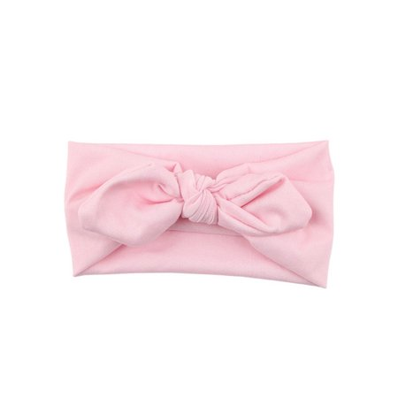 - Baby Kids Girls Rabbit Bow Ear Hairband Headband Turban Knot Head Wraps PK