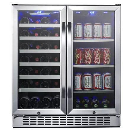 Dual Beverage (EdgeStar CWB2886FD Stainless Steel 30