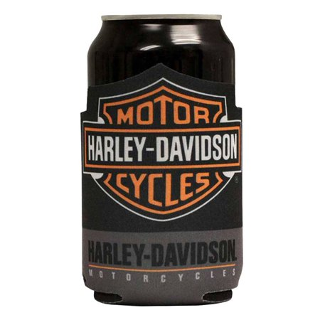 Harley-Davidson Classic Bar & Shield Can Flat Wrap Cooler and Insulator CF30280, Harley Davidson - Harley Oil Cooler
