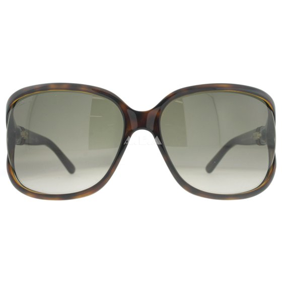 780213182b6 GUCCI - Gucci GG 3646 S DWJ HA Havana Brown Gradient Cut-out Lens ...