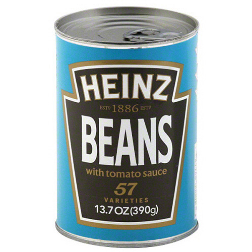 Heinz Beans With Tomato Sauce, 13.7 oz (Pack of 12)