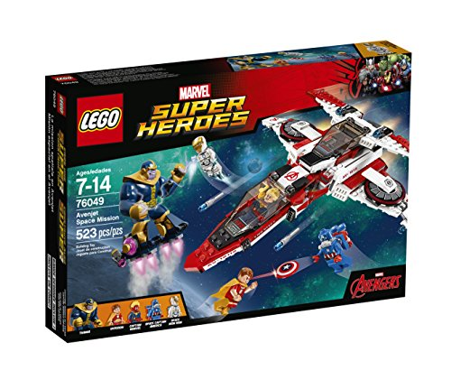 Lego Super Heroes Avenjet Space Mission 76049 by