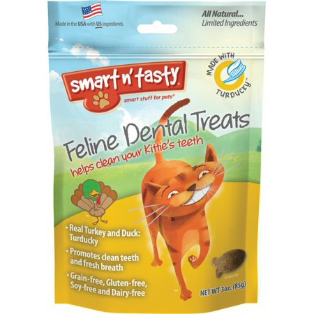 SMART N TASTY FELINE DENTAL GRAIN FREE TREATS](Tasty Treats For Halloween)