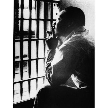 Laminated Poster Conversations Dr Martin Luther King Birmingham Jail Glossy Poster Banner Jr Poster Print 24 x