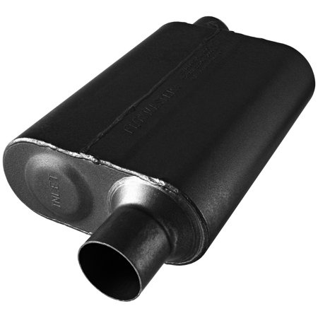 Flowmaster Universal Mufflers - Flowmaster 842548 Super 44 Series Muffler- 2.50 Offset In / 2.50 Offset Out - Aggressive Sound